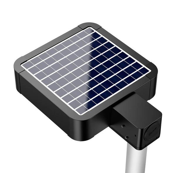 LASB25 Solar Powered Walk way light 3500 Lumens Shoe Box Area light Style 125 Metal halide Equal post Mount