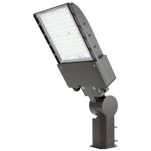 IL-MAL04-75-5K-S 480 VAC 75W LED Flood Light Fixture with Slipfitter Mount, 5000K Color Temp, Pole mounted Fixture, 320 Watt MH Equivalent