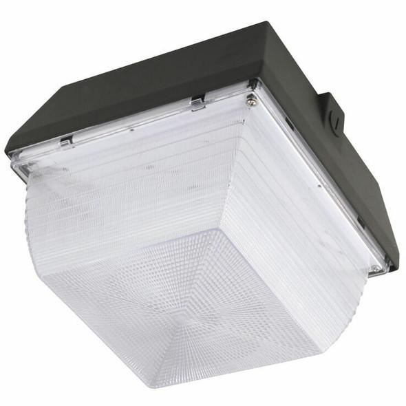 """IGF280 80 Watt Induction Parking Garage Light Fixture / 12"""" Square Outdoor Fixture, Canopy Light 5000K"""