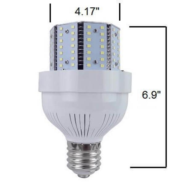 ICYC85 Compact 85 Watt LED Corn Light Metal Halide Replacement, ETL Listed DLC 3000K - 6000K