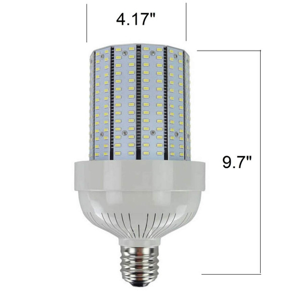 ICYC105 Compact 105 Watt LED Corn Light Metal Halide Replacement, ETL Listed DLC 3000K - 6000K