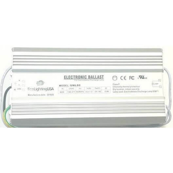 UVL100 100W Induction Electronic Ballast Power Supply 110-277v (Ballast Only)
