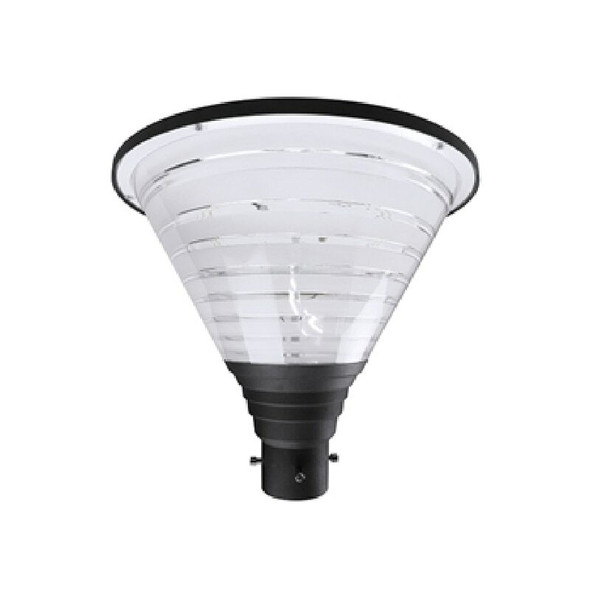 EL-HPTW27 100 Watt Modern Hourglass LED Post Top