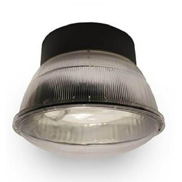 "IGF7 40w Induction Parking Garage Fixture / Aluminum 16"" Round Parking Lot light and Canopy Light Fixture"