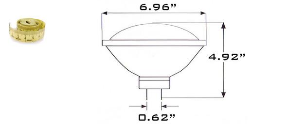 PAR56 LED Par56 Lamp with GX16D Base Color Temp Dimmable / Non Dimmable 3000K - 6000K