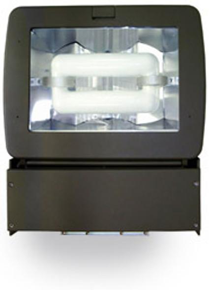 "FMD100 Series 100 Watt Induction Flood Light Area  Fixture  17""width Deep Body Adjustable Head.100 Watt"