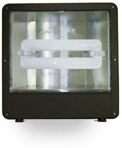 """FSWS120 120W Induction Shoe Box Light Fixture 23"""" Housing, Wide Angle Reflector, Flood Light, Parking Lot Light 120 watt"""