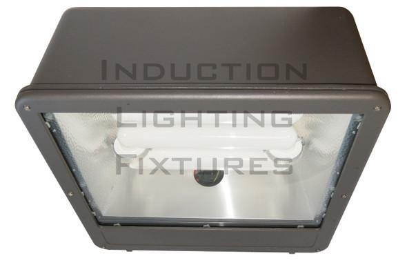 """FSWS300 300W Induction Shoe Box Light Fixture 23"""" Housing, Wide Angle Reflector, Flood Light, Parking Lot Light 300 watt"""