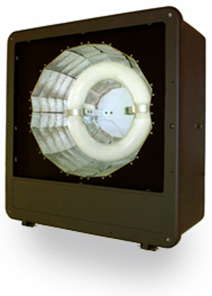 "FSV120 Series 120W Induction Spot Light Fixture 23"" Housing Type 5 Reflector Flood Light , Parking Lot Light 120 watt"