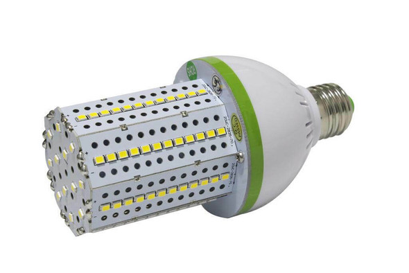 20 Watt LED | Corn Light | LED Cluster | 360 Degree Beam Angle Lamp with Medium (E26/27) Base UL Listed 5000K HID, CFL Replacement