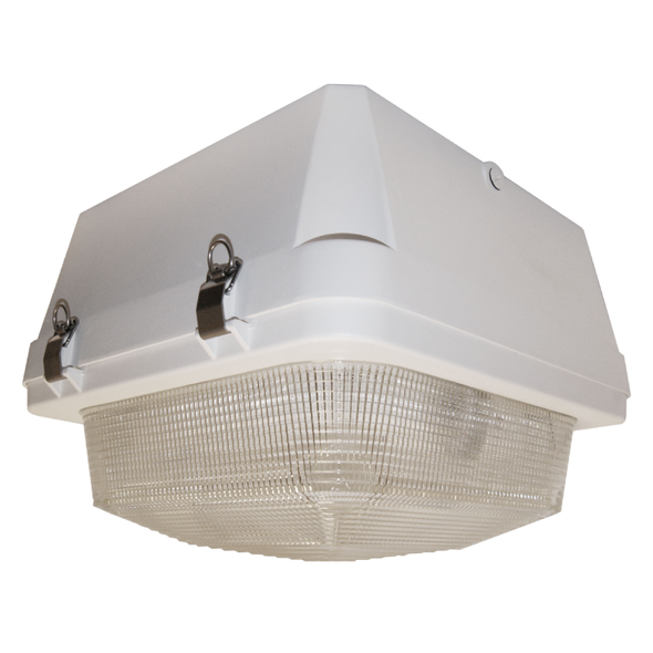 "80w Induction Gas Station / Tunnel 18"" Fixture for Surface and Canopy Mounting 80 Watt"