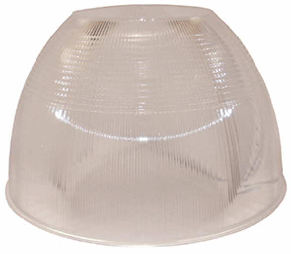 "CAR22 22"" Clear Acrylic Reflector for Low and High Bay Fixture"