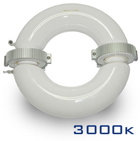 ILRL3k-200 Series 200 Watt Induction Circular Light, Round Lamp and Ballast Retrofit Kit 200W, 3000K