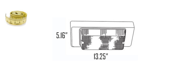 LSL13 Series 13W LED Outdoor Fixture Wall pack, Wall Surface Mount Fixture 13 Watt