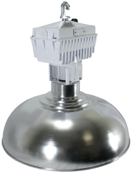 "ILB580 80W Induction 22"" Aluminum Low Bay Hanging Warehouse Light Fixture 80 watt"