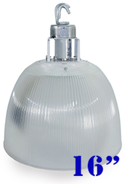 80w LED Clear Acrylic Prismatic High Bay Fixture with 360 Degree LED Lamp 80 Watt