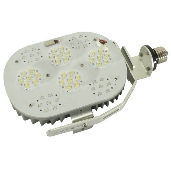 100 Watt High Power LED Light Retrofit Module with Optional Yoke Mount (e39/e40) Base & External Power Supply 5000K Color Temp