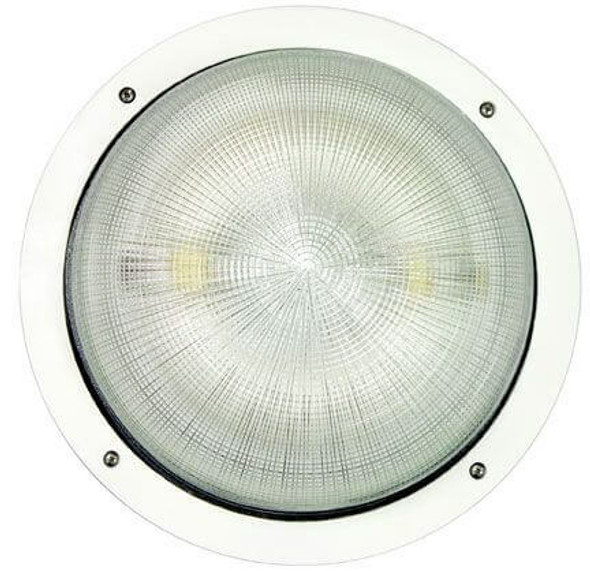 IW1C100 Series 100 Watt Induction  360 Degree 15 Inch Round Open Wall Pack Light