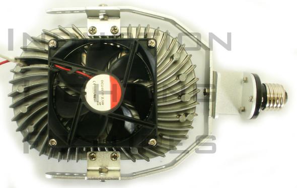 IRK120-3K 120 Watt High Power LED Retrofit Module with Optional Yoke Mount (e39/e40) Base & External Power Supply 3000K Color Temp