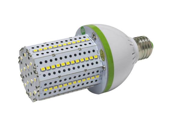 20 Watt LED Corn Light, LED Corn Cob, HPS Replacement, 360 Degree Beam Angle Lamp with E39 Base, Mogul (E26/27) Adapter Available, UL Listed 3000K