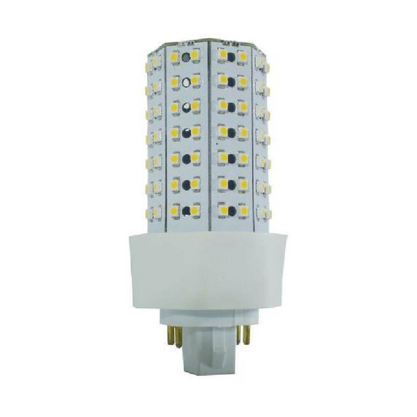 ICF9-4K 9 Watt LED PL light Bulb Cornlight with 360 degree Beam Angle 4000K, 20w CFL Replacement