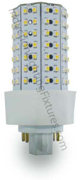 ICF9-3K 9 Watt LED PL light Bulb Cornlight with 360 degree Beam Angle 3000K, 20w CFL Replacement