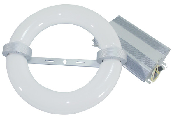 ILRL3k-120 Series 120 Watt Induction Circular Light, Round Lamp and Ballast Retrofit Kit 120W, 3000K