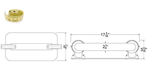 250W Induction Rectangular Light Square Lamp and Ballast Retrofit Kit 250 Watt 4000K