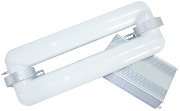 80W Induction Rectangular Light Square Lamp and Ballast Retrofit Kit 80 Watt 4000K