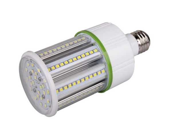ICM15-3KIP64 15W LED Corn Light, 15 Watt LED Corn Cob, LED Cluster 360 Degree Beam Angle Lamp with Medium E26/E27 Base UL Listed 3000K