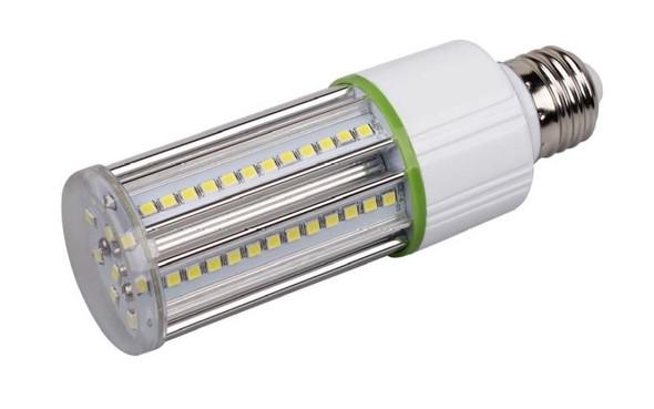 LED Corn Light IP64 9W | 9 Watt LED Corn Cob | LED Cluster 360 Degree Beam Angle Lamp with Medium E26/E27 Base UL Listed 3000K