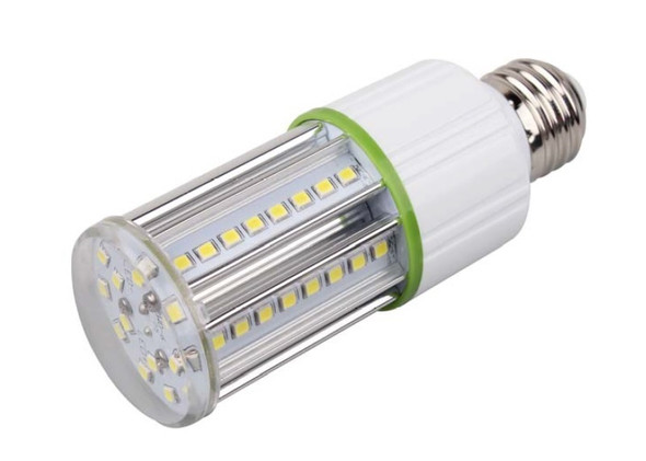 LED Corn Light IP64 7W, SNC-CLW-7WA1 7 Watt LED HID, 360 Degree Beam Angle E26/E27 Base UL 5000K