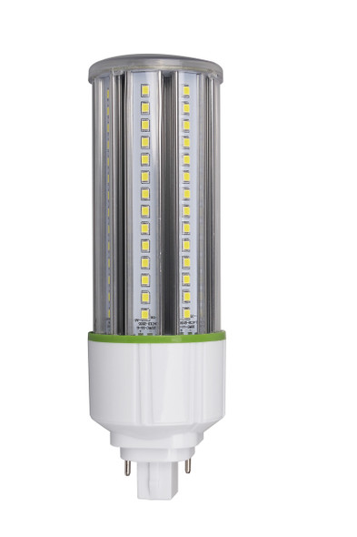 ICS20-5K2 20 Watt LED Corn Light, LED Corn Cob PL, LED Replacement PL 360 Degree Beam Angle, G24d (2 Pin) Base 5000K