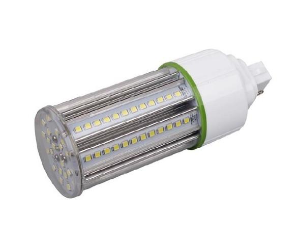 ICS15-4K4 15 Watt LED Corn Light, LED CornCob PL, LED Cluster 360 Degree Beam Angle Lamp with with G24q (4 Pin) Base 4000K