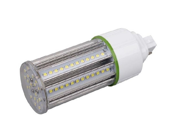 ICS15-3K4 15 Watt LED Corn Light, LED CornCob PL, LED Cluster 360 Degree Beam Angle Lamp with with G24q (4 Pin) Base 3000K