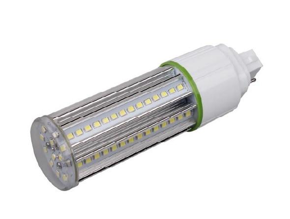 ICS12-5K4 12 Watt LED Corn Light, LED CornCob PL, LED Cluster 360 Degree Beam Angle Lamp with with G24q (4 Pin) Base 5000K