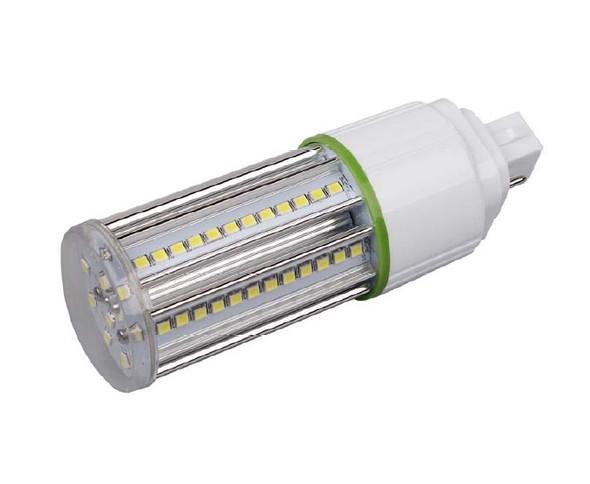9 Watt LED Corn Light, LED CornCob PL, LED Cluster 360 Degree Beam Angle Lamp with with G24q (4 Pin) Base 3000K
