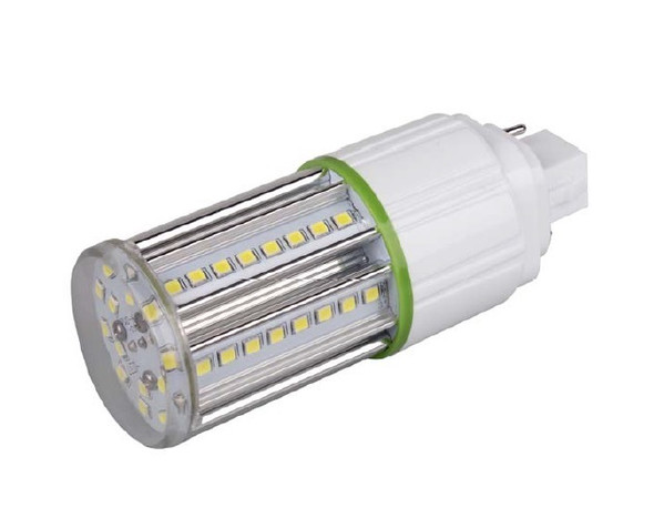7 Watt LED Corn Light, LED CornCob PL, LED Cluster 360 Degree Beam Angle Lamp with with G24d (2 Pin) Base 4000K