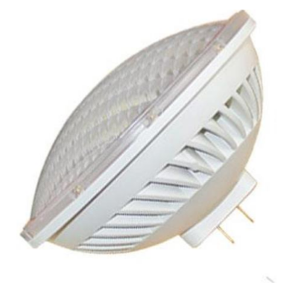PAR56D-3K LED Par56 Lamp with GX16D Base 3000K Color Temp Dimmable 120vac