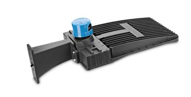 LKHD150-5K-S 150 Watt LED Area Light Fixture, Deco Style Parking Lot Light Fixture 600 Watt MH Replacement with Slip Fitter