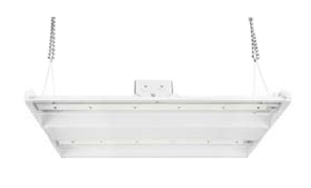 150 Watt  10 Year LED Linear High Bay Light Fixture ILLHB Series Fluorescent Replacement 2x2 Ft.