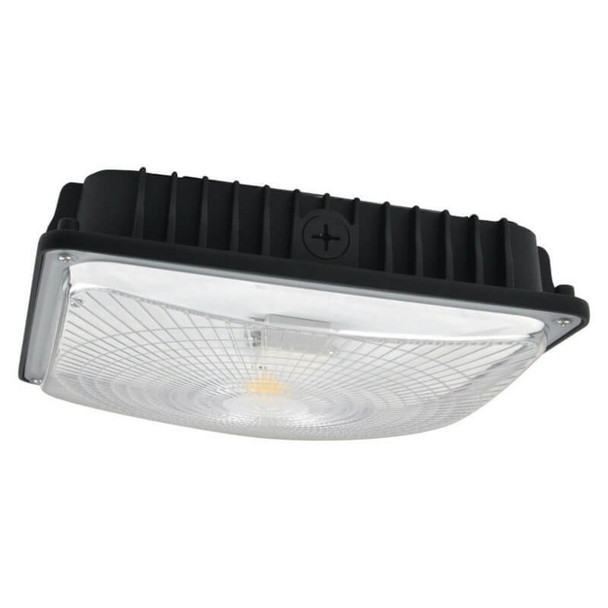 LGD265-5K 65w LED Parking Garage Fixture for Surface and Canopy Mounting DLC Certified