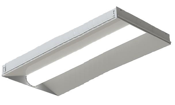 ILUX50W2x4-3.5K LED Troffer Light Fixture 2x4 ft 50 watt 3500k DLC Certified Grid Ceiling Light
