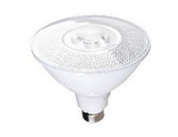 PAR38 LED with Medium Base 3000K . Dimmable 17W 120vac (12pcs/Case) Sold By the Case.