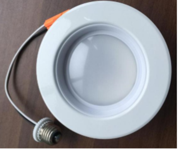 "ILRC-15W-6-5K 15W Recessed Light Trim 15 Watt, 5000K Color, 5"" to 6"" Recessed Lighting, Case Quantities 12/case Energy Star"