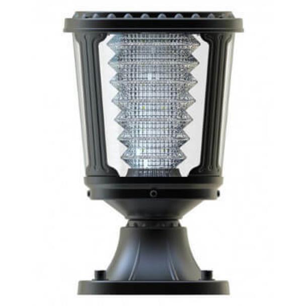 LGA-PMS-100 Post Mounted Solar Light Fixture, Solar Powered, LED LGA Sereis 100 Lumens S Mount