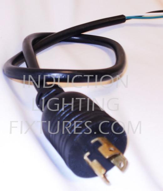 PC120-6 6 Foot Twist Lock 120 Volt Power Cord
