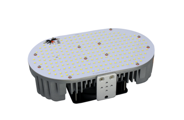 240 Watt LED Retrofit Module & 480 vac External LED Driver 5000K Optional Yoke Mount