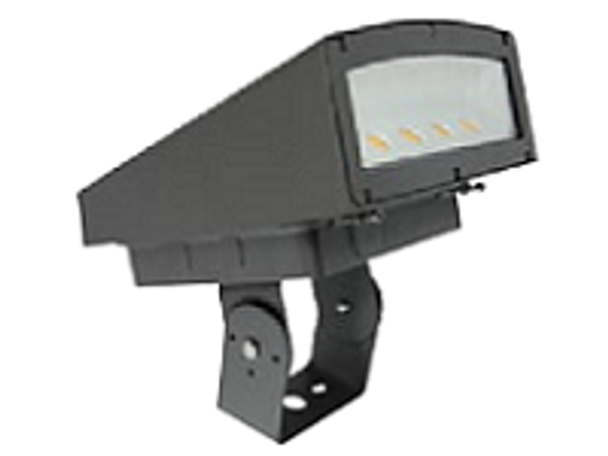 LFLS80BR Series 80 Watt LED Outdoor Flood Light, Area Light Fixture, with Adjustable Bracket DLC