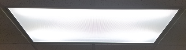 ILTR-5k-4840FR Series Fluorescent Light to LED Retrofit Kit for 2x4 Troffer and Grid Lights, 48 inch. DLC Frosted Lens